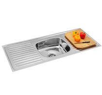 Single Bowl Double Drain Sinks - 5001