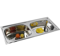 Double Bowl Sinks - 3007