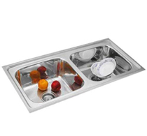 Double Bowl Sinks - 3008